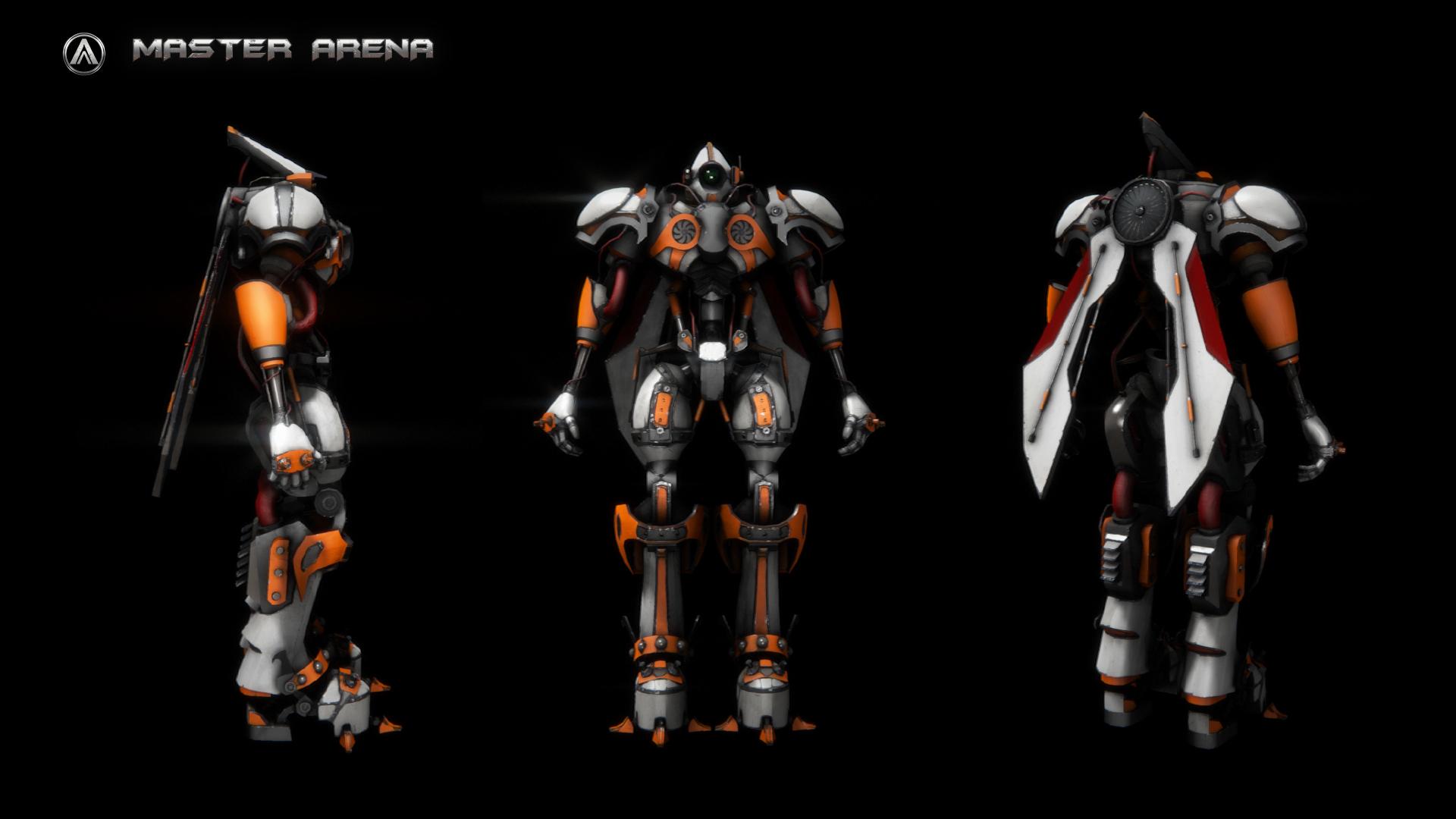 AlphaBot : Master Arena's Robot