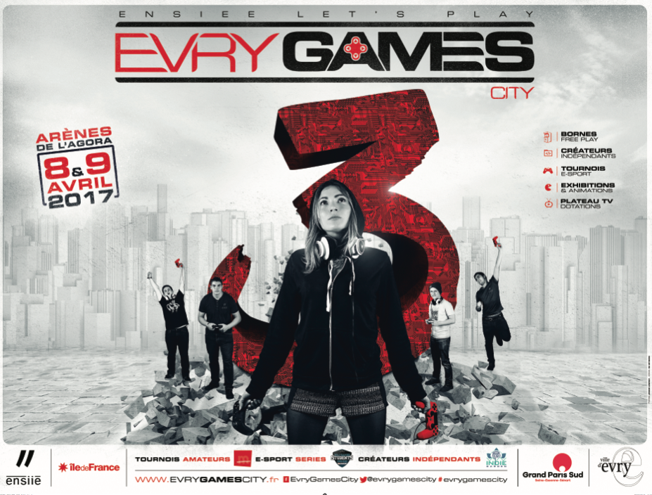 Poster Evry Games City 3