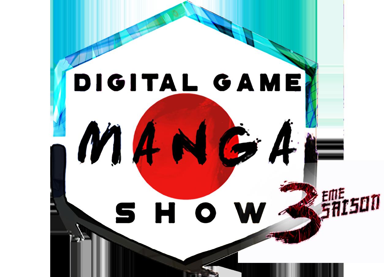 Logo Digital Game Manga Show