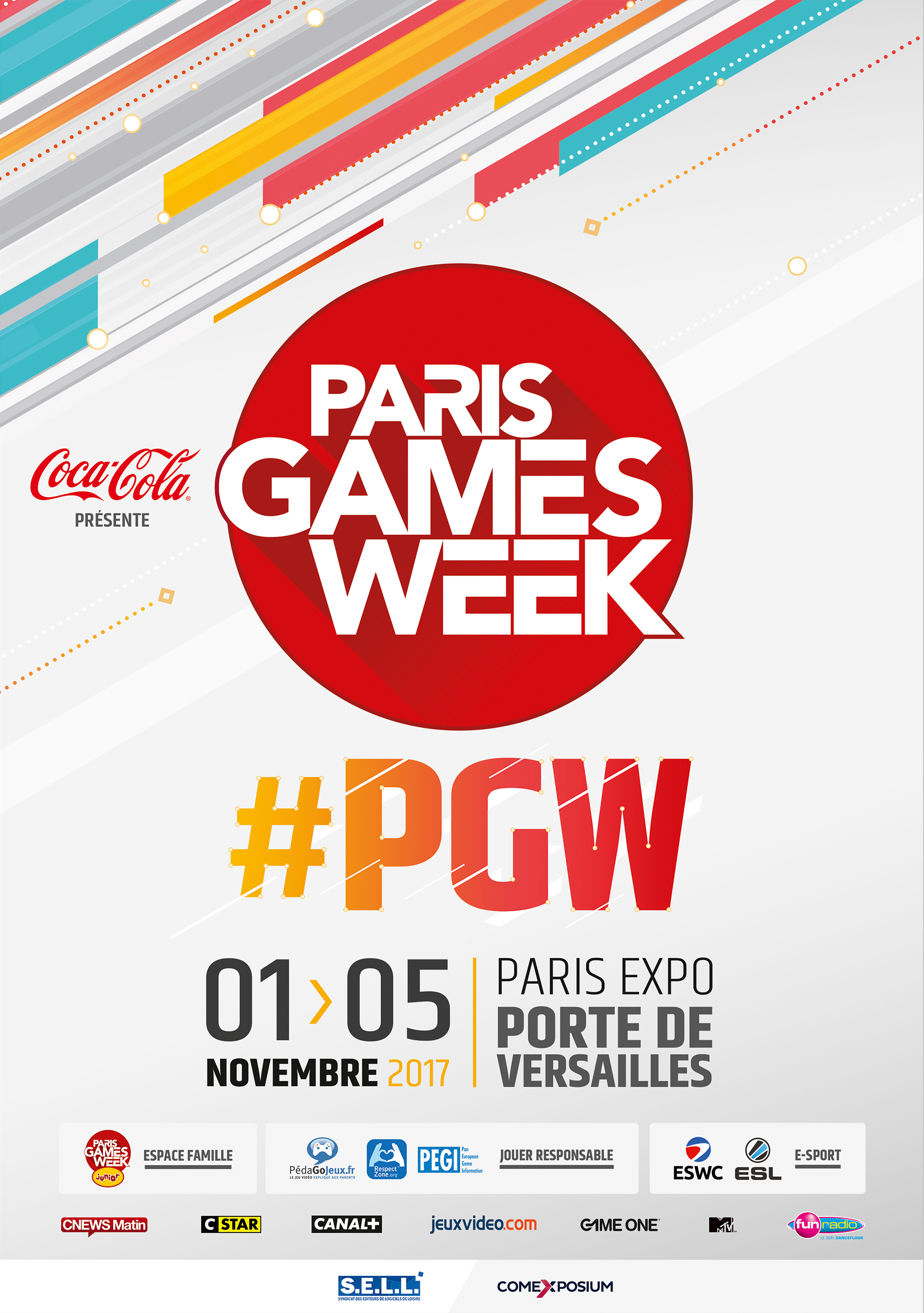 Poster Paris Games Week